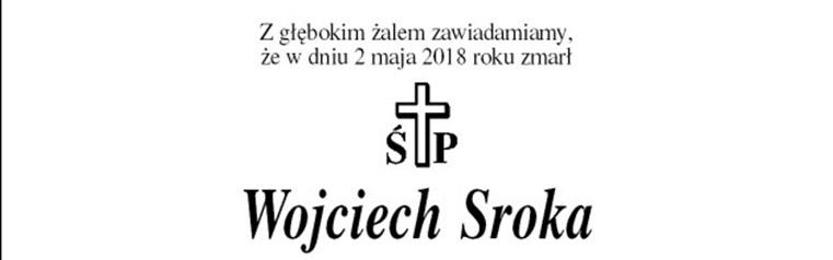 Zmarł Wojciech Sroka